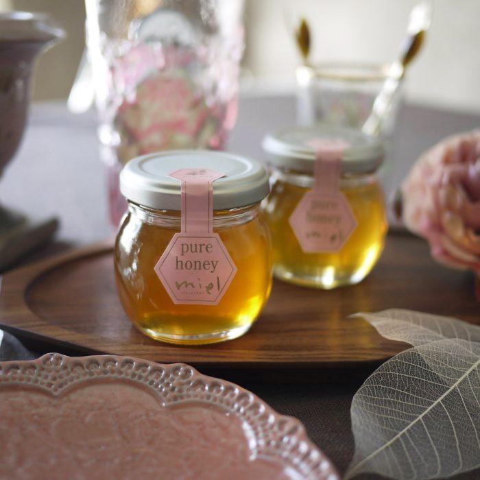 国産さくらんぼ蜂蜜 【山形など】